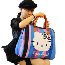 2016 hot sale famous brands women's cartoon bag women luggage travel bags large duffle bag for women spain bolsos ZL99(China)