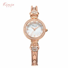 Kimio original brand watches women luxury brand Rhinestones crystal heart design ladies bracelet quartz-watch relogio masculino