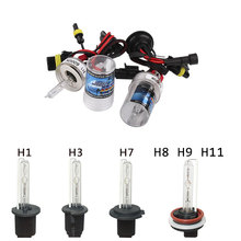 H1 H3 H7 H8 H9 H11 HID Xenon Lamp Headlight Bulbs Pure White Replacement 6000K 8000K 12V 35W Fog light Car Light Source Auto(China)