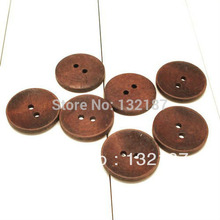 Buy 300pcs/lot 2-hole natural wood buttons brown color sewing buttons flatback 15mm/18mm free WOOD 032 for $12.50 in AliExpress store