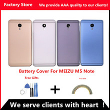 Q&Y QYJOY AAA Quality Battery Housing Cover For Meizu M5 Note Battery Back Door Case Camera Lens Back Cover For M621(China)