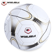 Durable PVC Size Five Machine Sewing Football Soccer Ball Machine-stitched PVC Appearance Child Men Soccer Ball 2-3cm Deviation(China)