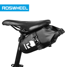 Waterproof bike saddle bag high end rainproof PVC MTB Bike Rear Bags Cycling Rear Seat Tail Bag bicycle bag(China)