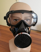 Protect eyes Breathe easier High quality Gas mask protective dust paint chemical masks activated carbon breathing apparatus(China)