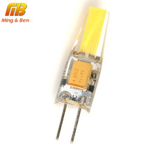 [MingBen] G4 LED Lamp Bulb 3W DC12V AC220V Bombillas LED COB Chip Replace Halogen Lamp High Bright For Spotlight Chandelier Bulb(China)
