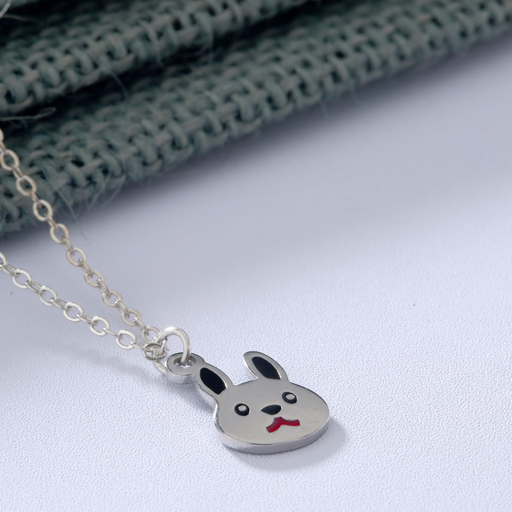 QIAMNI-Lovely-Rabbit-Animal-Bunny-Chain-Pendant-Necklace-Birthday-Pet-Lover-Gift-for-Women-K (3)