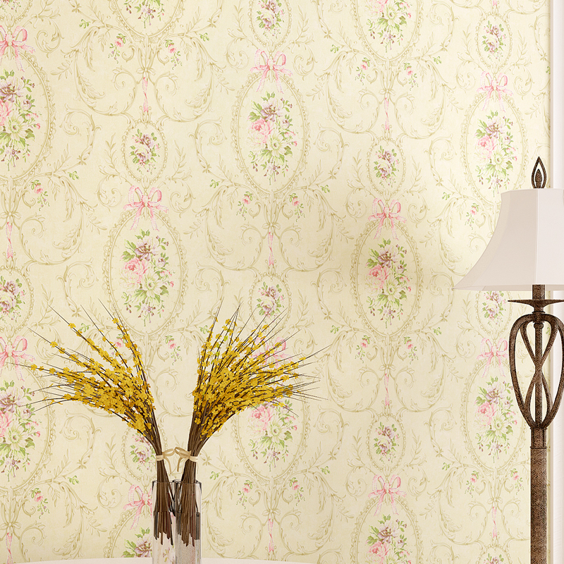 American Wall Paper Rustic Floral Wallpaper Roll for Living Room Non Woven Bedroom Wallpapers 3D Contact Paper Wallpaper Murals <br>