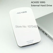 Free shipping On Sale 2.5'' ACASIS Original 500GB USB2.0 HDD Mobile Hard Disk External Hard Drive Have power switch Good price(China)