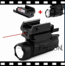 2in1 Tactical P226 Gun M9 CREE LED Flashlight/LIGHT +Red Laser/Sight Combo for Shotgun GL 17 19