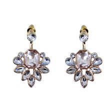 Europe and the United States jewelry wholesale exaggerated personality aspect ShanZuan drop earrings