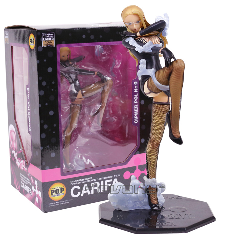 Anime One Piece POP 10th anniversary CP9 Carifa Kalifa PVC Figure Collectible Model Toy 22CM<br>