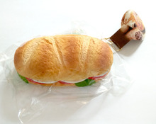 10 PCS New Arrival Squishy Bread Panini Phone/Bag Straps Dust Plug  Gift Free Shipping
