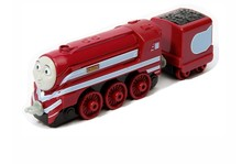 1:64 new style die cast  1 : 64 Diecast model Thomas and friends with hook trainmaster Caitlin with truck NIB