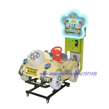 NYST Coin Operated Video Kiddie Rides On Toy Car Kids Arcade Game Machine(China)