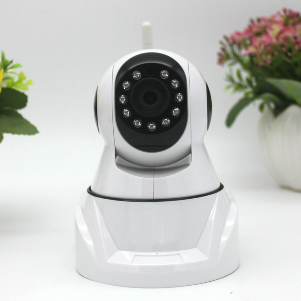 High Quality HD Wireless IP Camera 720P Night Vision Security Camera P2P 1.0Mp Indoor IP WIFI Camera<br>