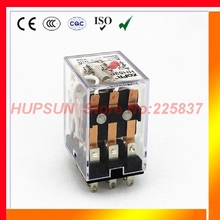 my3nj relay (5pcs/lot) HH53P mini rele 12v dc ac 24v 36v 48v 110v relay 220v DC/AC 5A mini electromagnets 3pdt plug-in relay