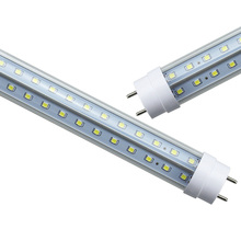 0.6m 2ft G13 T8 led tube light 18W high luminous flux led fluorescent T8 AC85-265V free shipping 10pcs(China)