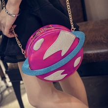 50pcs/lot Women PU Leather Shoulder Bag Mini Messenger Bag Part Clutch Women Plante Laser Handbag(China)