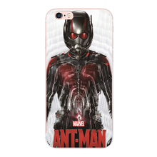 Ant Man Review poster hard shell For iphone 7 5S 5 5C SE 4 4S 6 6S plus cover cases For Samsung Galaxy S6 S7 edge s3 s4 s5 i9600(China)