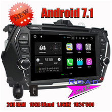 Wanusual 2G+16GB Quad Core Android 7.1 Car PC Media Center DVD Player Video For Suzuki Ciaz 2015 Stereo GPS Navigation 1080P HW(China)