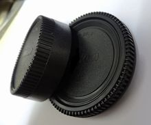 10 PCS/SLR camera body cap rear lens cap front cover for Nikon (free shipping + tracking number)10 PCS