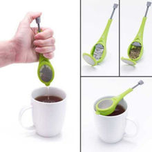 Hot Flavor Total Tea Infuser Measure Swirl Steep Stir Strainer Filter Teacup Father Gift(China)