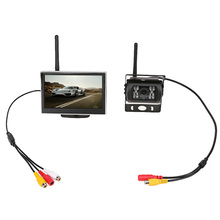 TFT LCD Car Monitor Auto TV Car Rear View Camera with Mirror Monitor Backup Reverse Monitor Car DVD Screen Car Monitors