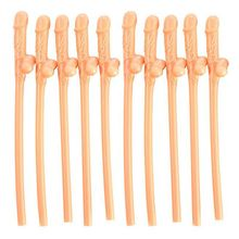 Hen Party willy Straws Sex products Dicky Jok Straw event Bachelorette party supplies Drinking Penis Straws 10pcs/pack