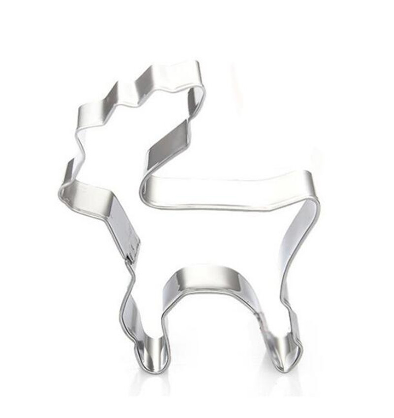 11 Style Christmas Stainless Steel Cake Cookie Cutter Mold Baking Pastry Tools