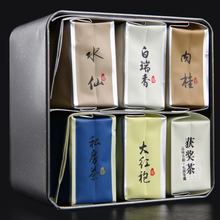 6 flavors classic combination Narcissus cinnamon tea Dahongpao Oolong Tea Black Tea 48g Da Hong Pao Wuyi Natural Health Products