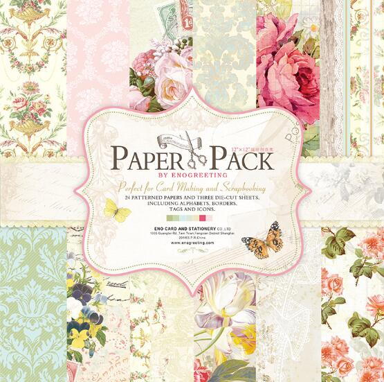 12 colorful scrapbooking paper word flower wedding die cut paper background set of 27sheets papercraft kit