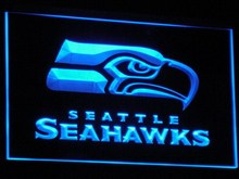 b242 Seattle Seahawks Bar Pub LED Neon Sign with On/Off Switch 20+ Colors 5 Sizes to choose sent in 24 hrs(China)