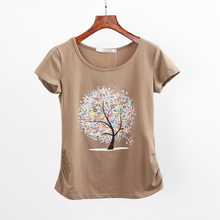 Buy Summer clothing short-sleeve T-shirt female casual shirts t shirt women clothes top tee harajuku tshirt tops plus size 6XL 5XL for $9.75 in AliExpress store