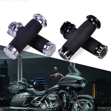 "Motorcycle 1 Pair 1"" 25mm CNC Handle Bars Hand Grips Throttle Accelerator fit for Harley VRSC XL XR Dyna Softail Touring Trike"