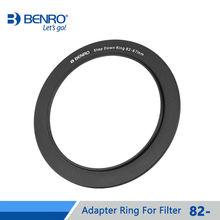 Benro Adapter Ring For Filter 82mm To 37/39/40/40.5/43/46/49/52/55mm Aluminum Holder System For Camera Lens Free Shipping