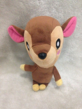 Little Buddy USA Animal Crossing New Leaf Fauna/Doremi 25cm Plush(China)
