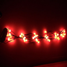 16 Flashing Happy Christmas Tree Dazzling Light Tree Dazzler Lamp New Year Natal Decoration For Home Festive Atmosphere Lights(China)