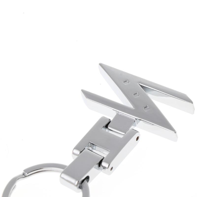 EDC Gadgets Letter Z Car Key Chain Key Ring Chrome Finishing For Nissan 280ZX