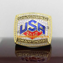 Free Shipping Hot Selling Sports Jewelry 2012 USA Olympics Basketball Team Championship Ring,Ring of LeBron James