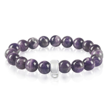 Fashion Jewelry Bracelet For Women Crystal Bracelet Purple Stone Charm Bracelet Love Present TS-BR001