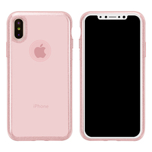 FSHANG Fitted Phone Case for iPhone X Solid Color Phone Case for iPhone X Transparent Phone Cover Phone Cases FS06(China)