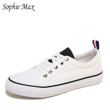 sophie max manufacturers wholesale autumn new sports couples male and female students canvas shoes 870009(China)