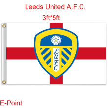 England Leeds United A.F.C. decoration Flag B 3ft*5ft (150cm*90cm)(China)