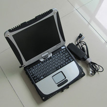 2017 DHL Free For panasonic Toughbook CF19 CF-19 4G RAM Laptop can work with icom a2 mb star c4 c5 vas5054a alldata