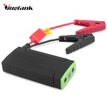 Vingtank Mini Car Jump Starter Emergency Car Jump Starter Battery Charger Engine Booster 3-LED Light Support SOS Strobe 12V(China)
