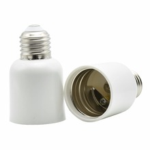 E27 to E40 Lamp Holder Converter Screw Bulb Bases Lamp LED Light Screw Socket E40 Bulbs to E27 Holder Adapter Converter 6PCS(China)