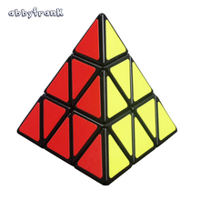 Pyramid Magic Cube Pyraminx Speed Puzzle Triangle Cube Game Cubo Magicos Shape Twist Puzzle Educational Toy For Children