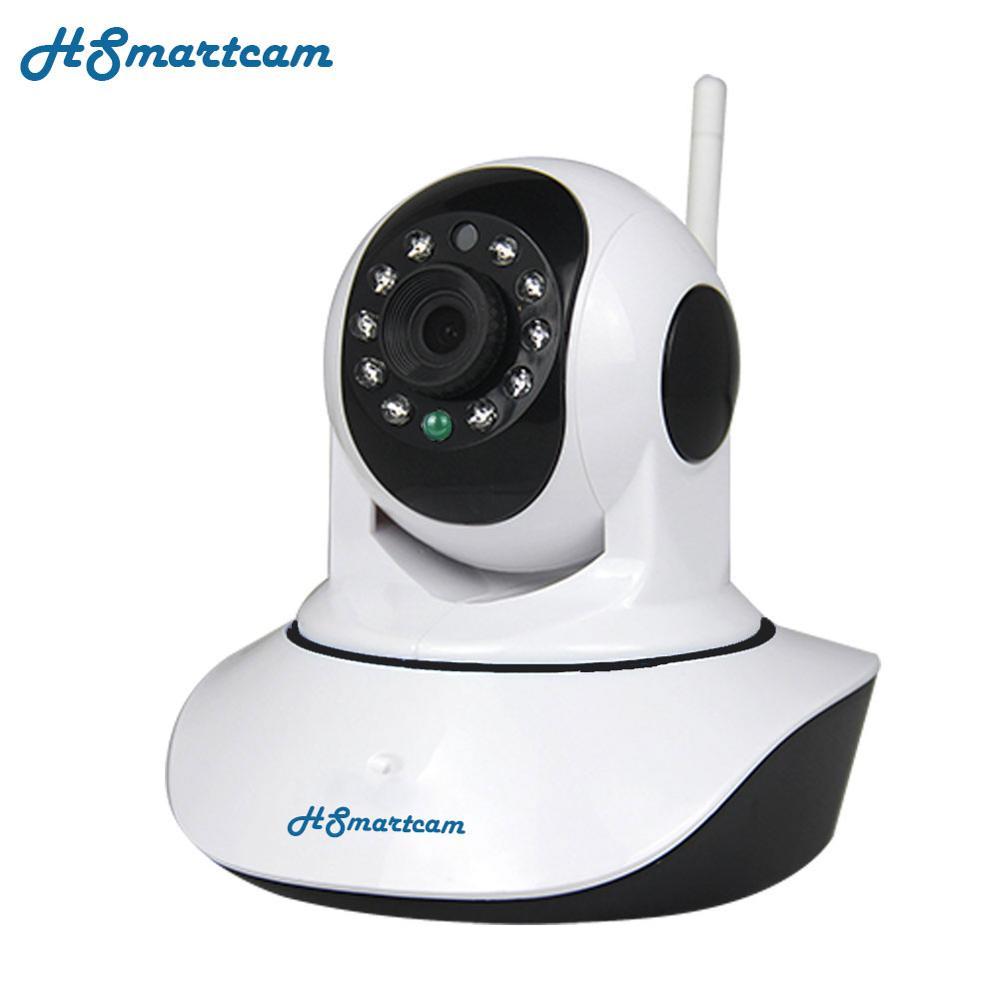 CTV HD 1080P Mini HD 720P Wireless WiFi P/T IP Camera Wi-Fi IR-Cut IR Night Vision Audio Video Security CCTV Camera Baby Monitor<br>