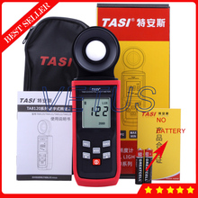 TA8122 200,000Lux Digital LCD backlight Pocket Illumination Meter with Light Luminance Meter Lux Tools