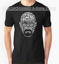 8-shirts Rushed Top Fashion O-neck Broadcloth Teenage T Shirt Short-sleeve Fashion 2017 Mens The Making Of A Heisenberg Tees(China)